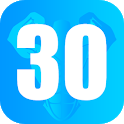 Fitness Workouts 30 Days: Routines Gym and diets icon