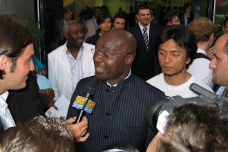 Photo: Roger Milla ..... wie kent deze Kameroener niet?