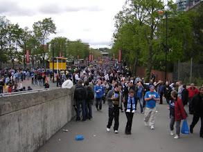 Photo: Walking the'Olympic Way' at Wembley