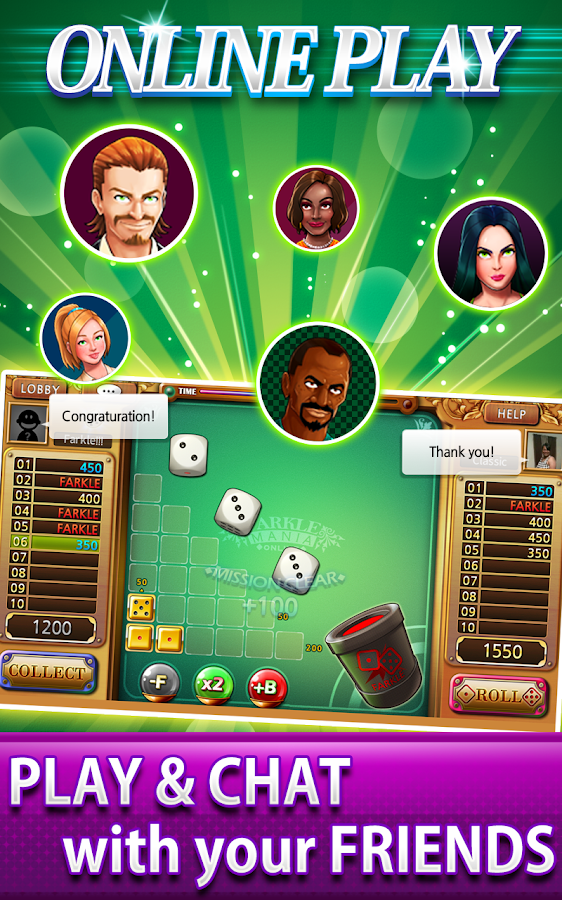 Farkle Mania - Live dice game- screenshot