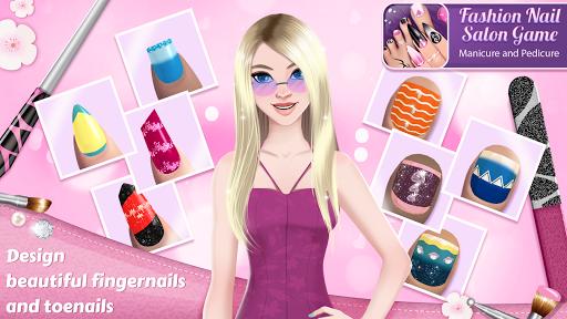Fashion Nail Salon Game: Manicure and Pedicure App 1.1.1 screenshots 1