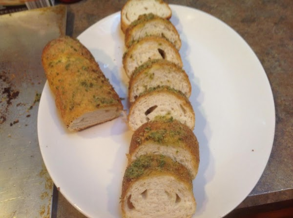 Easy Garlic & Chive French Bread Loaf Recipe