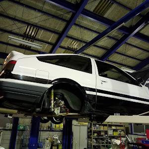 スプリンタートレノ AE86 60年GT-APEXのブレーキローターのカスタム事例画像 にかんさんの2019年01月14日22:21の投稿