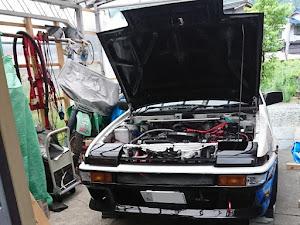 スプリンタートレノ AE86 GT APEX 3ドア    昭和 60年式のカスタム事例画像 86K☆さんの2020年07月03日22:28の投稿