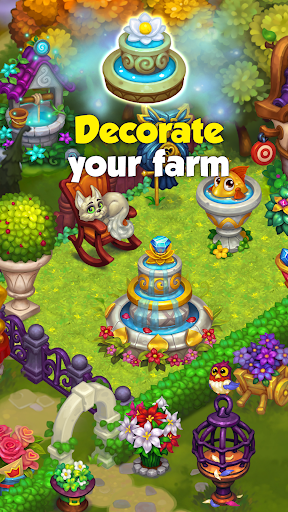 Wonder Valley: Enchanted Farm with Fairy tales android2mod screenshots 6