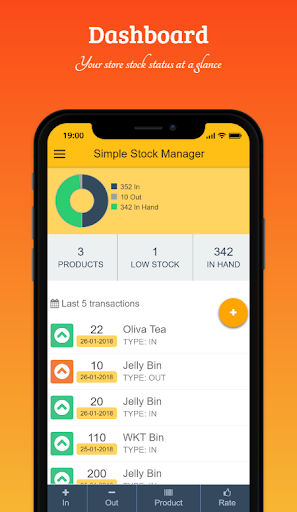Simple Stock Manager  screenshots 1