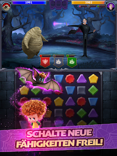 Hotel Transsilvanien: Monsters! Puzzle Action Game Screenshot