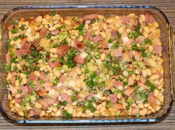 Apple, Bean & Ham Casserole Recipe