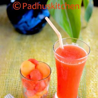 Watermelon Cantaloupe Juice Recipes