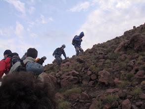 Photo: On monte avec nos Guides Mano de Ginstra et Nino