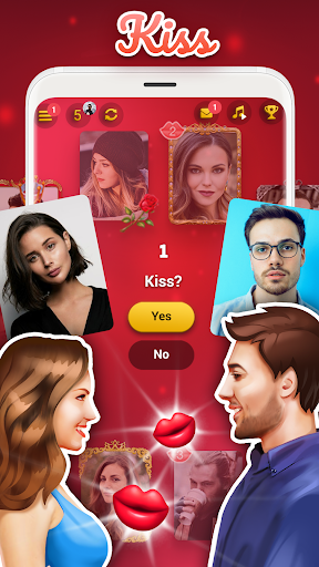 Kiss me: Spin the Bottle, Online Dating and Chat apkpoly screenshots 2