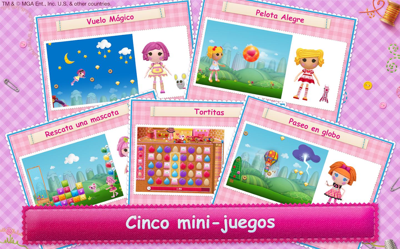 Lalaloopsy: las muñecas en 3D Para Android - Captura