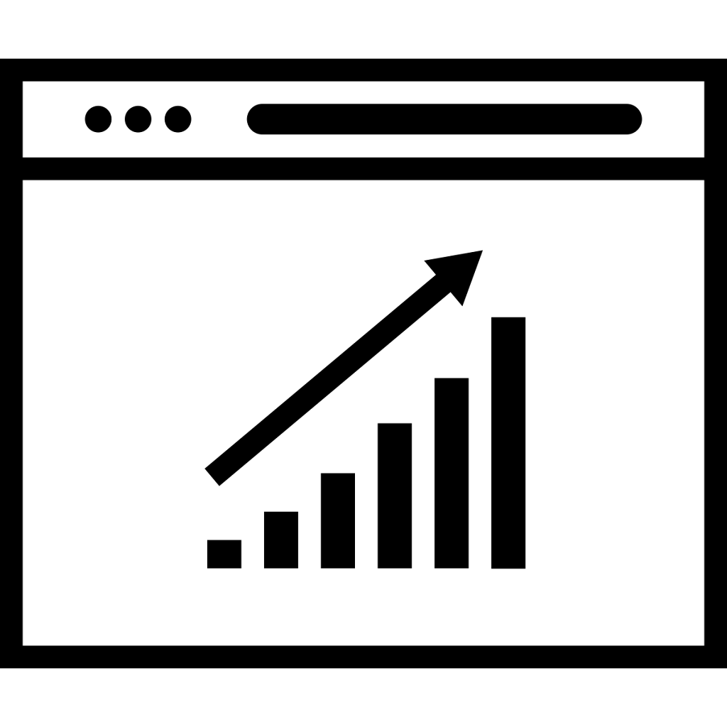 Organic Search Engine Optimization Icon