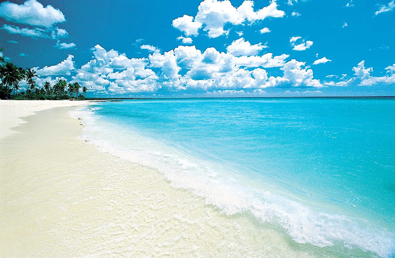 Leave time to visit the lovely beaches of the Dominican Republic.