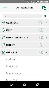 Lakto-App Screenshot