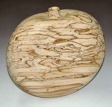 "Photo: Eliot Feldman - spalted maple canteen - 11"" x 11"""