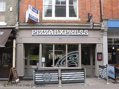 Pizzaexpress On Abbeygate Street Restaurant Italian In