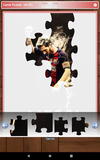 Lionel Messi Game Puzzle android2mod screenshots 10