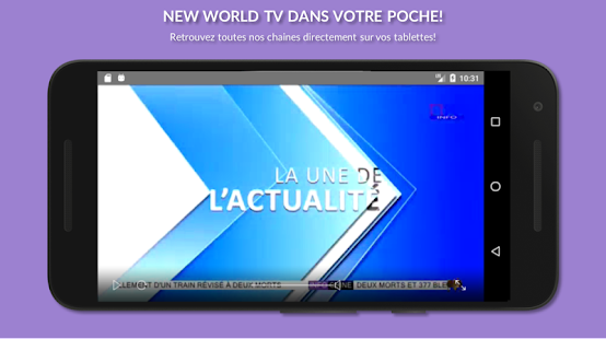 New World TV Capture d'écran