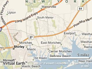 Long Island example map