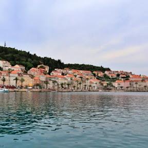 マルコポーロの生まれた島!?のどかで美しいクロアチアのコルチュラ島を歩く