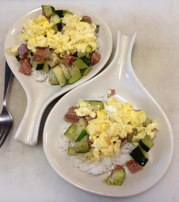 Aloha Breakfast Scramble Recipe