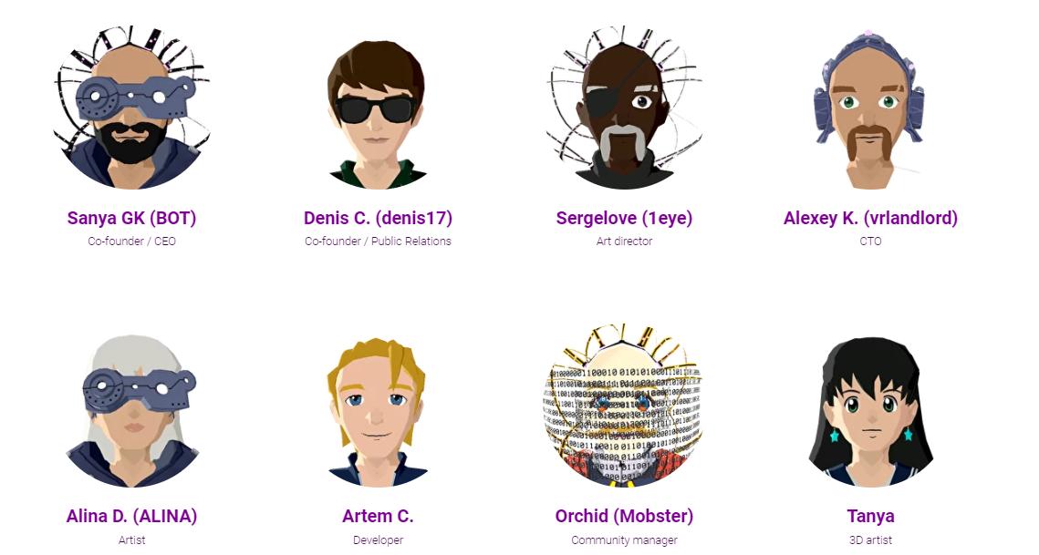 dappcraft decentraland cryptocurrency team