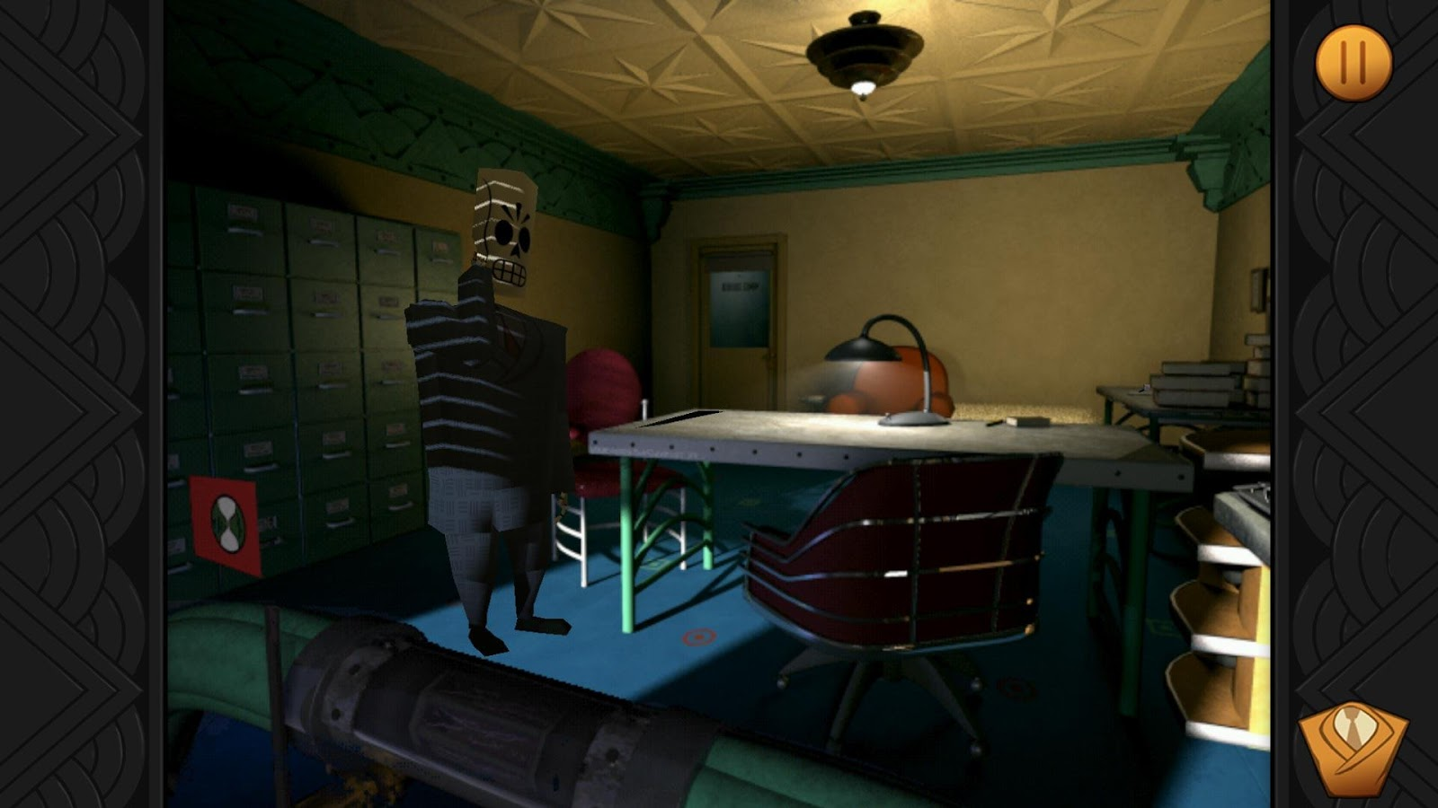 Grim Fandango Remastered- screenshot