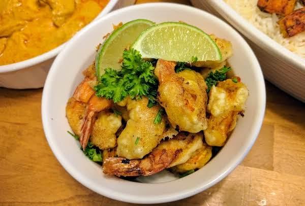 Crunchy Curried Shrimp Or Fish