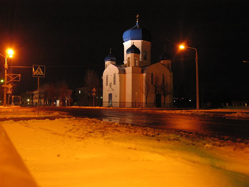 Only one sight in Shklov - Church