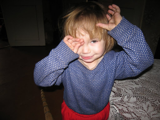 My cousine daughter, Anastasia, 2 years old
