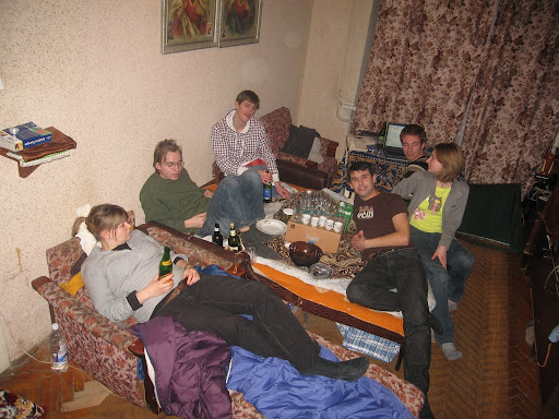Party at my friend's place