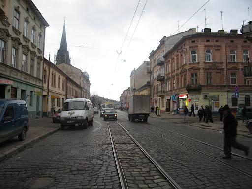 Center street in Lviv