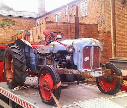 Photo: From the days before Ford abandoned the Fordson name, only 3 cylinders were needed as they weren't expected to drive at 50mph between farms...every farmer could afford one.
