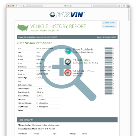 VinCarHistory - VIN Check and Vehicle History Reports