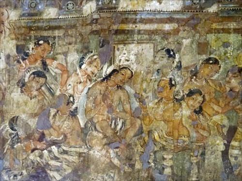 Jataka Image in Ajanta