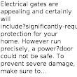 Safety Tips For Electric Gates Users