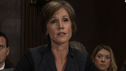 White House denies it sought to prevent Yates' testimony