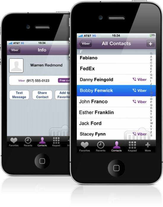 Viber - iPhone