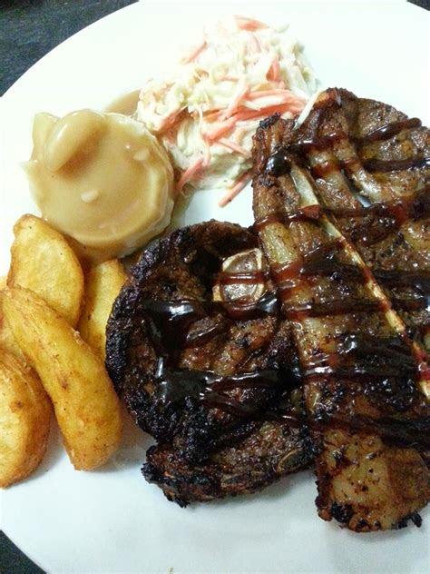 menu western daging kambing panggang resepi