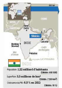 map sikkim