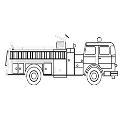 Crayola Coloring Pages for Kids: Equipment Kids Fire ...