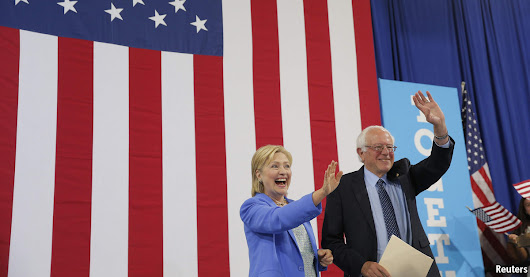 After a long wait, Sanders endorses Clinton