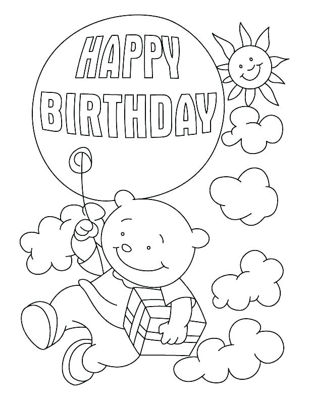 Happy Birthday Grandma Coloring Pages at GetColorings.com ...