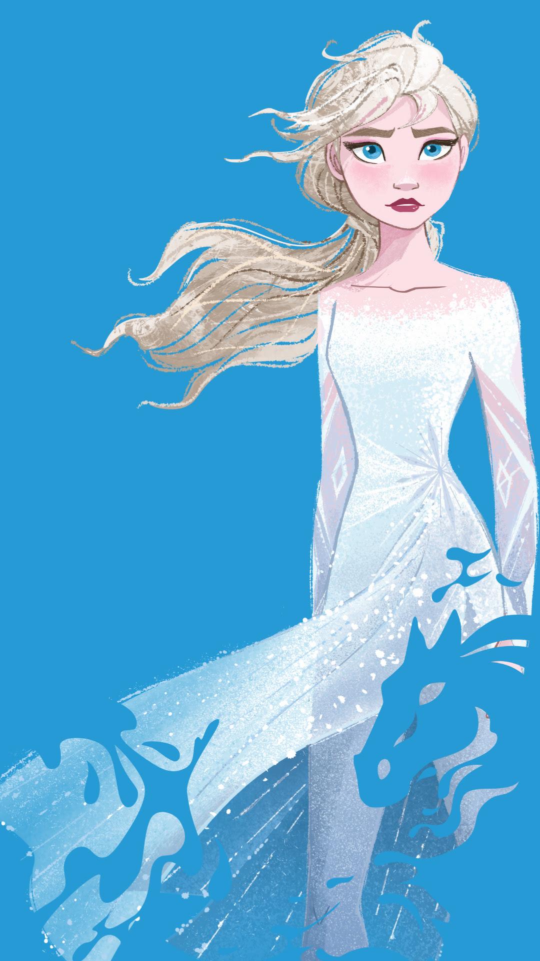 Frozen 2 Elsa Phone Wallpaper Elsa And Anna Photo 43116020