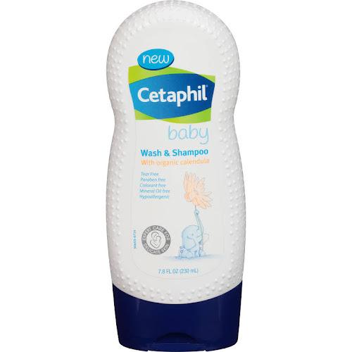 Cetaphil Baby Wash & Shampoo - 7.8 fl oz bottle