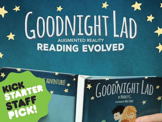 Update 4: 3 weeks in, 10 days left · Goodnight Lad: Augmented Reality Children's Book