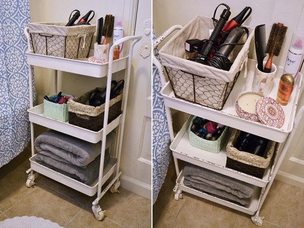 Bathroom Organization Ideas for Your Apartment