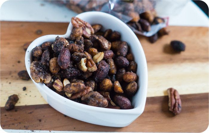 trader joe's sweet, hot, and savory nut mix review : part of a weekly review series of tj's desserts and treats