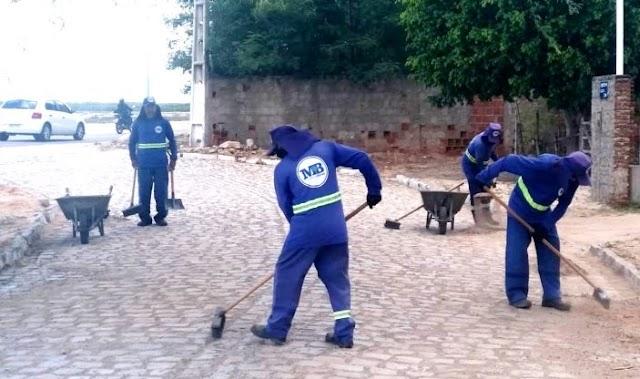 Prefeitura de Guamaré intensifica limpeza pública na cidade